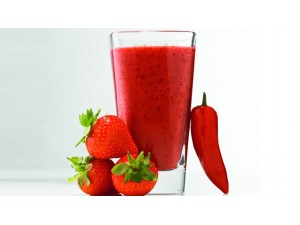 Strawberry, Raspberry and Chili Fat-Burning Smoothie